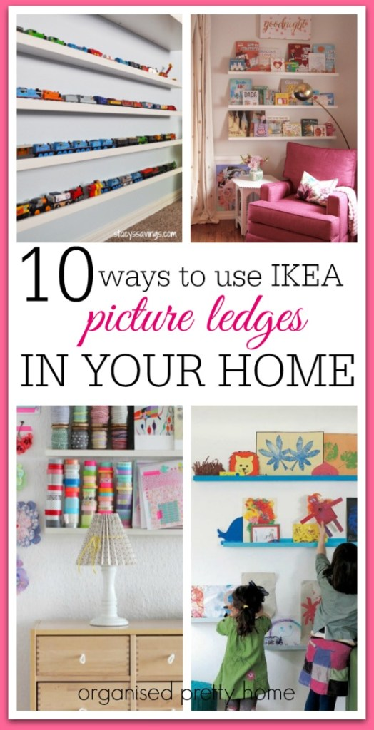 Ikea picture ledge ideas