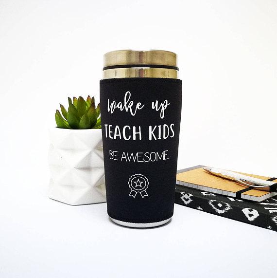 teacher gift idea teacher travel mug