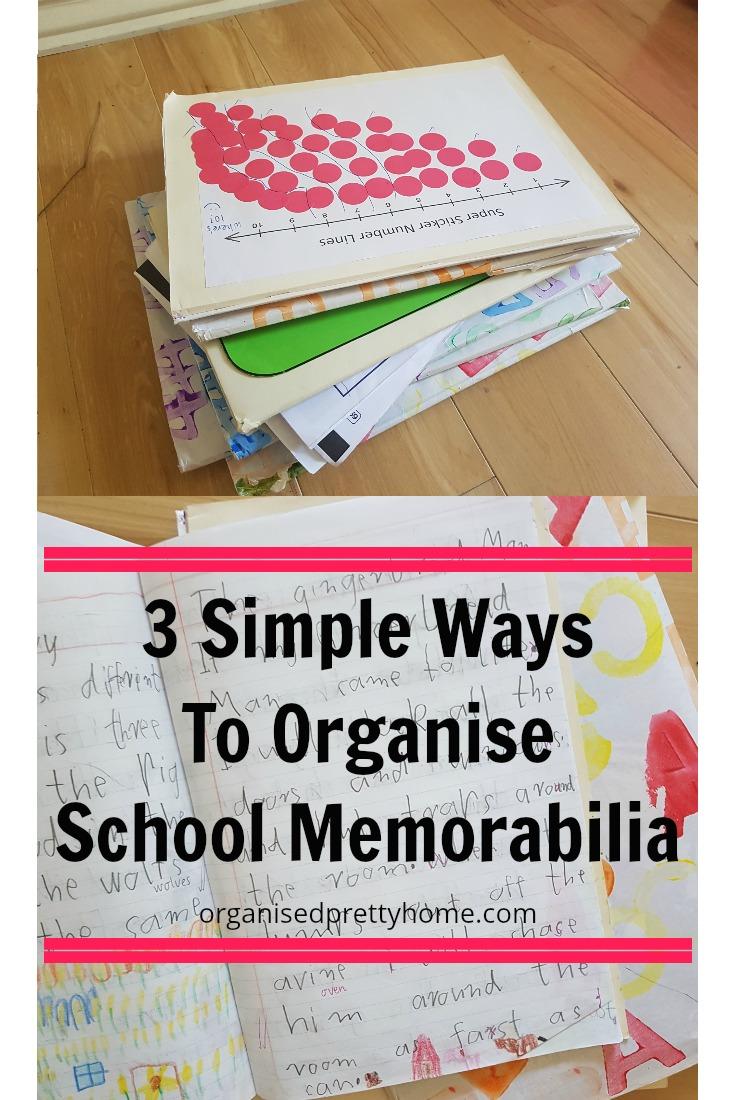 3 ways to organise school papers