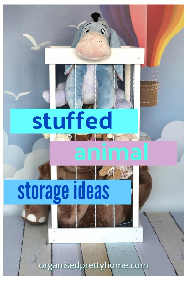 23 Cute Ways to store stuffed animals