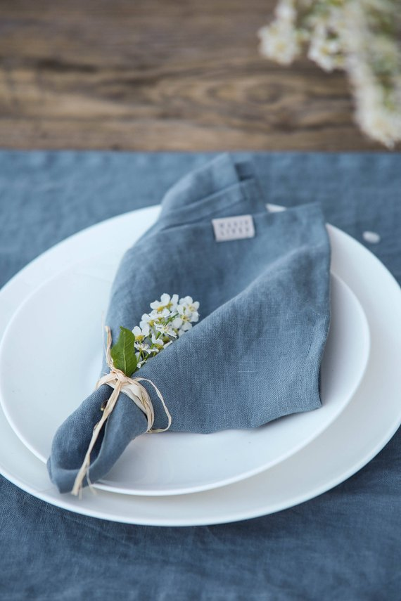 sister in law gift ideas - linen napkins