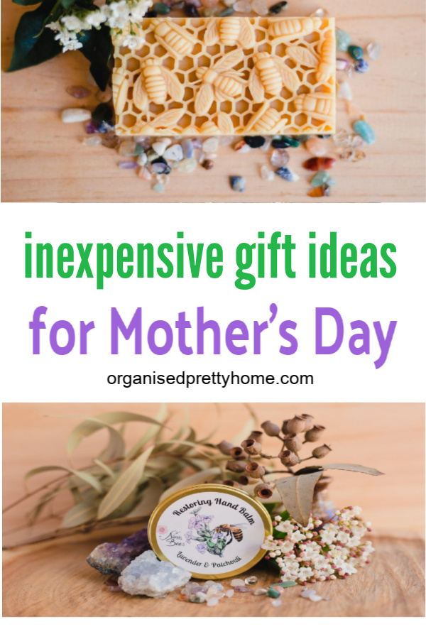 Thoughtful and inexpensive gift ideas for Mom or Grandma this Mother's Day.
