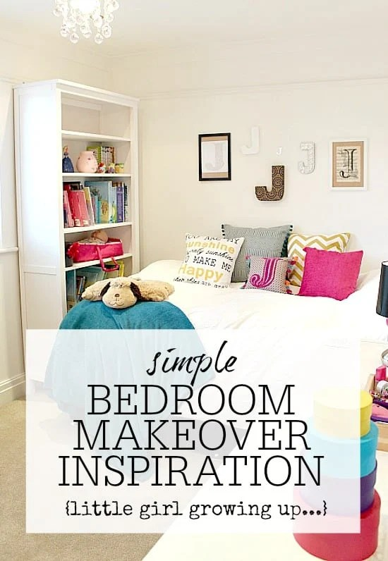 Simple bedroom makeover  tips  inspiration to create a