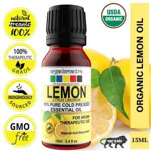 USDA Organic Lemon Essential Oil