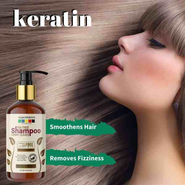 Smoothens Hair Keratin Shampoo