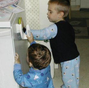 Los niños pueden colaborar