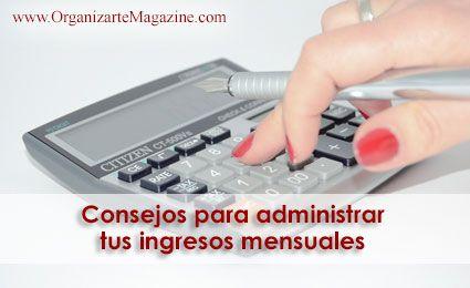 como-administrar-ingresos-mensuales