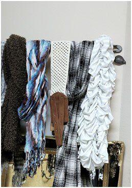 como ordenar bufandas