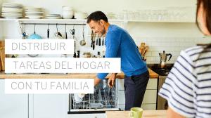 distribuir tareas del hogar con la famiilia
