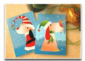 ¡Organízate y prepara tus propias tarjetas navideñas!