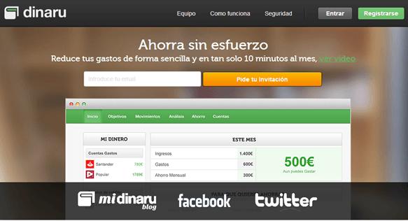 Dinaru_herramienta_online_ahorrar_dinero