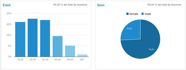 Datos Demográficos Google Analytics