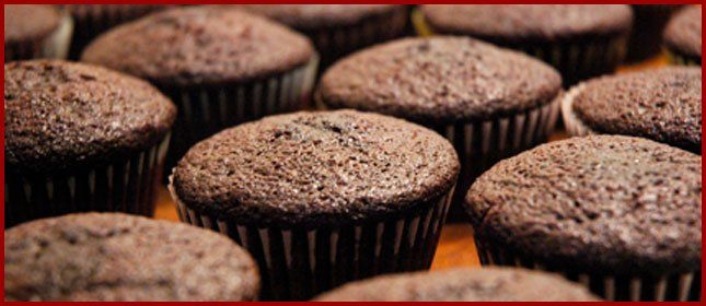 Recetas de 5 minutos: cupcakes de chocolate