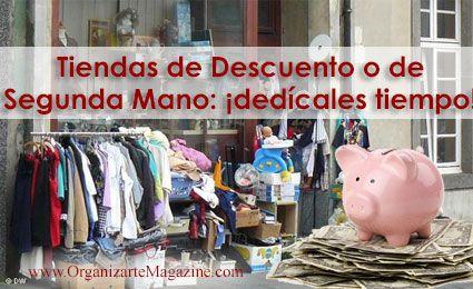 Tips para ahorrar dinero: tiendas de descuento y segunda mano