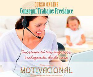 Consigue trabajos freelance