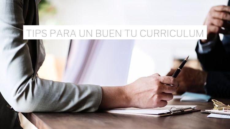 tips para un buen curriculum vitae