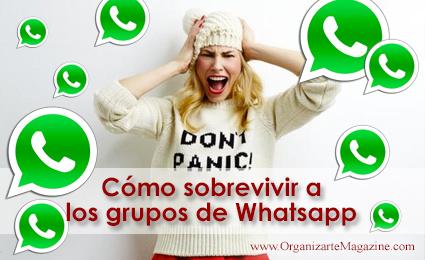 sobrevivir a los grupos en whatsapp