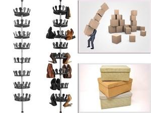 TecTake Carrusel para zapatos