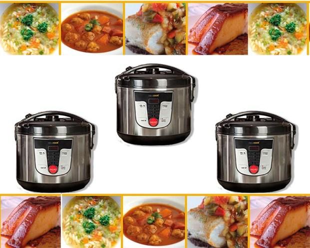 robot de cocina cocinar hogar comida platillos familia comer preparación