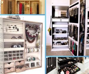 Organizando mi bisutería guardaropa perchas vestidos bisutería hogar casa habitación