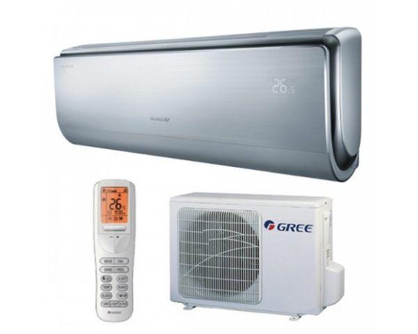Aire acondicionado Split Pared - Inverter UCROWN 12 - 3500W - Color Plata - A++/A+++