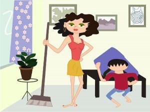 Limpiando con niños Ideas para entusiasmarlos