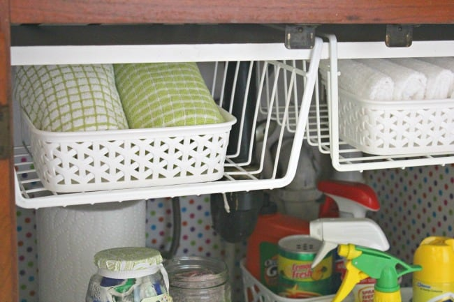 under kitchen sink organizer spatula 15 genius the organization ideas