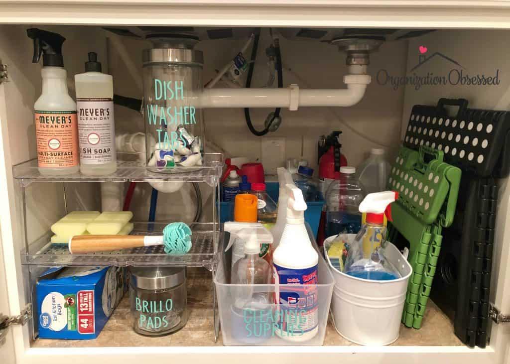 15 genius under the kitchen sink