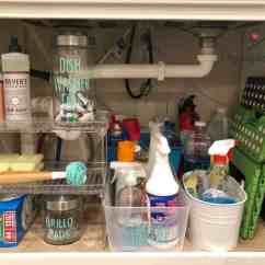Under Kitchen Sink Organizer Cast Iron Sinks 15 Genius The Organization Ideas How To Organize