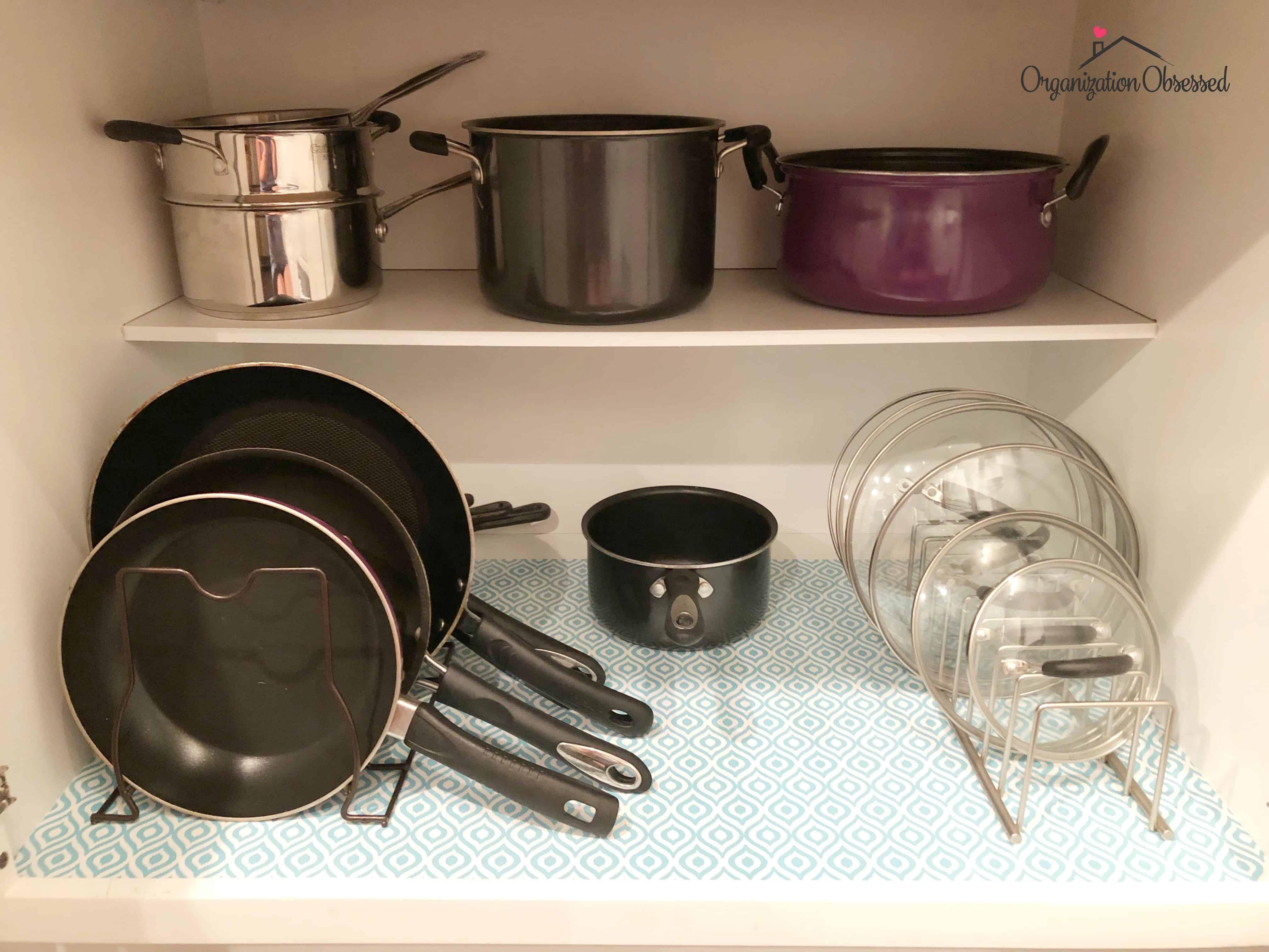 how to arrange pots and pans in kitchen materials 16 genius ways organize cabinets organization