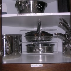 How To Arrange Pots And Pans In Kitchen Wheeled Island Professional Organizer Utah
