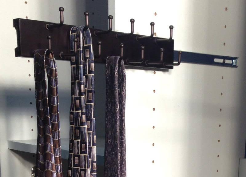 Capella Standard Closet Tie Rack Closet Organizer Accessories