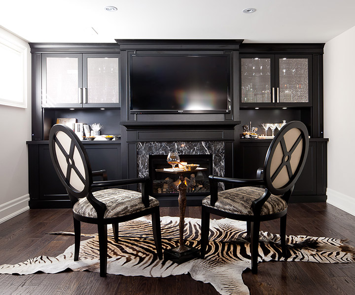 home entertainment fireplace living room furniture stool unit 5 ways to maximize your wall space
