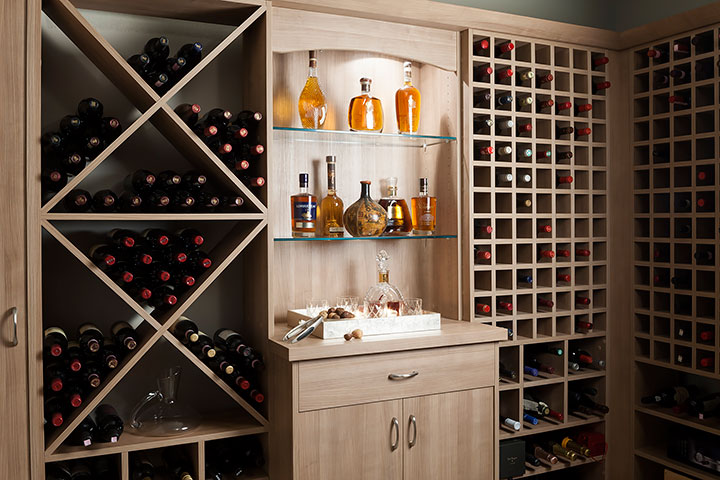 Wine Storage Ideas Cabinetry  Cellar Solutions For Any