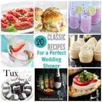 Bridal Shower Food Ideas