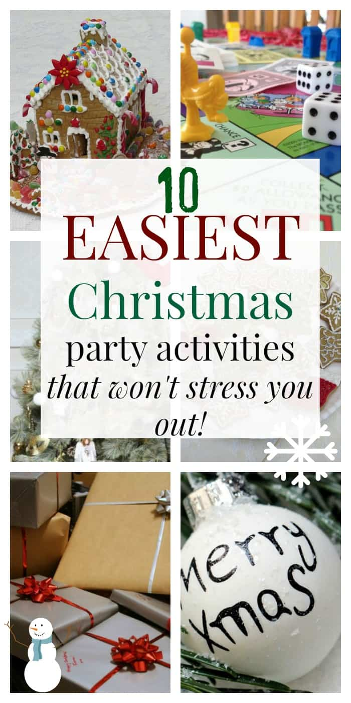 10 easiest christmas party
