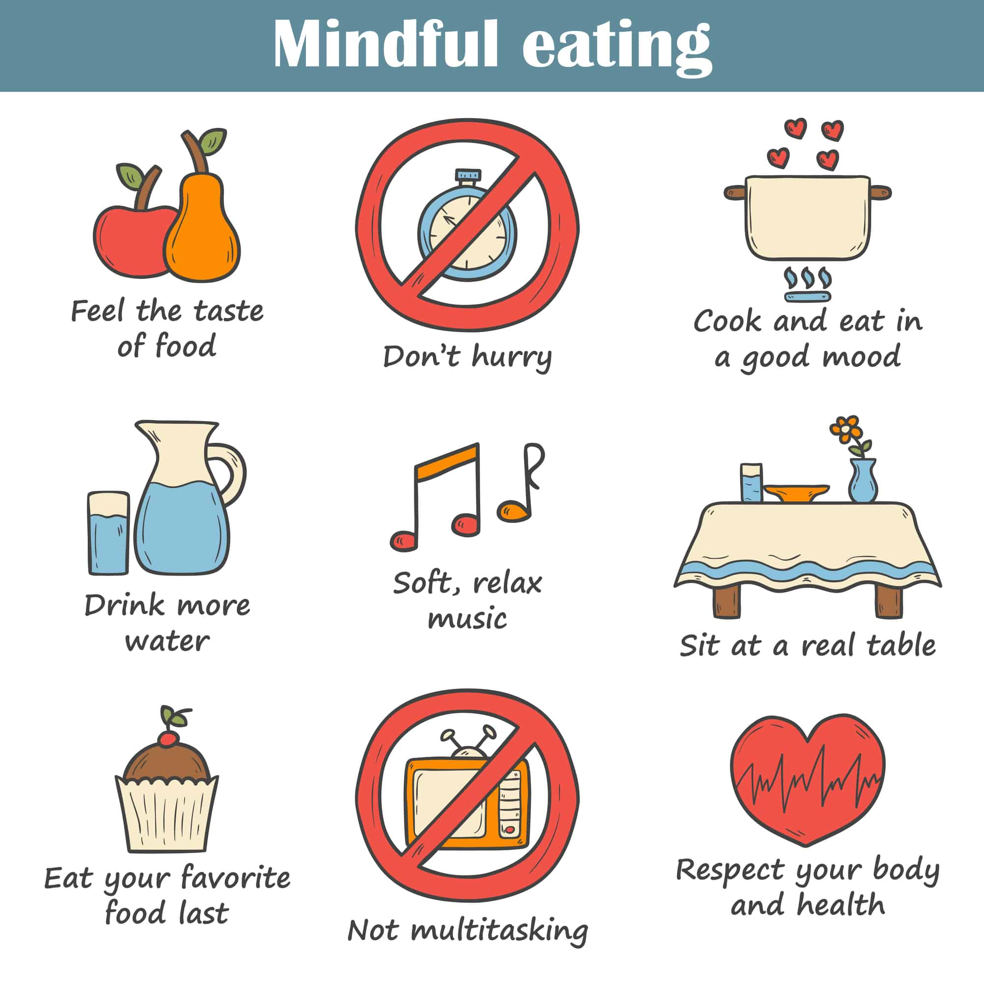 10 Rules Of Mindful Eating