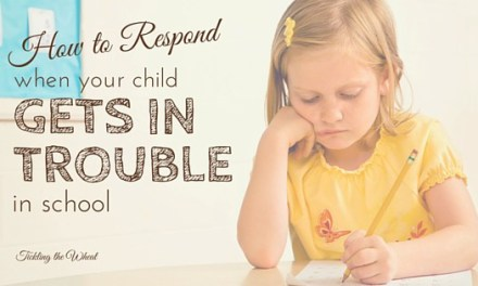 How to Respond When Your Child Gets in Trouble at School