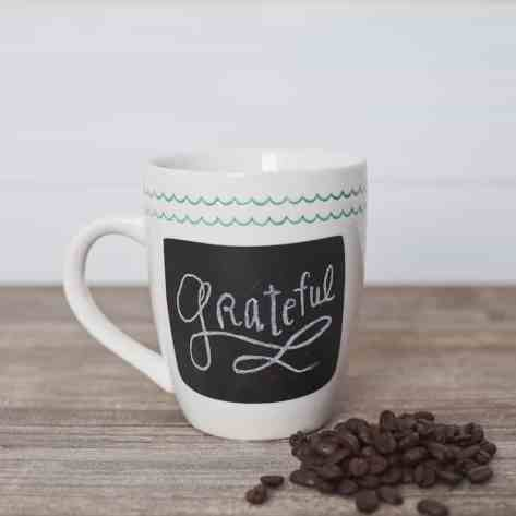 This chalkboard mug is such a cute gift idea.