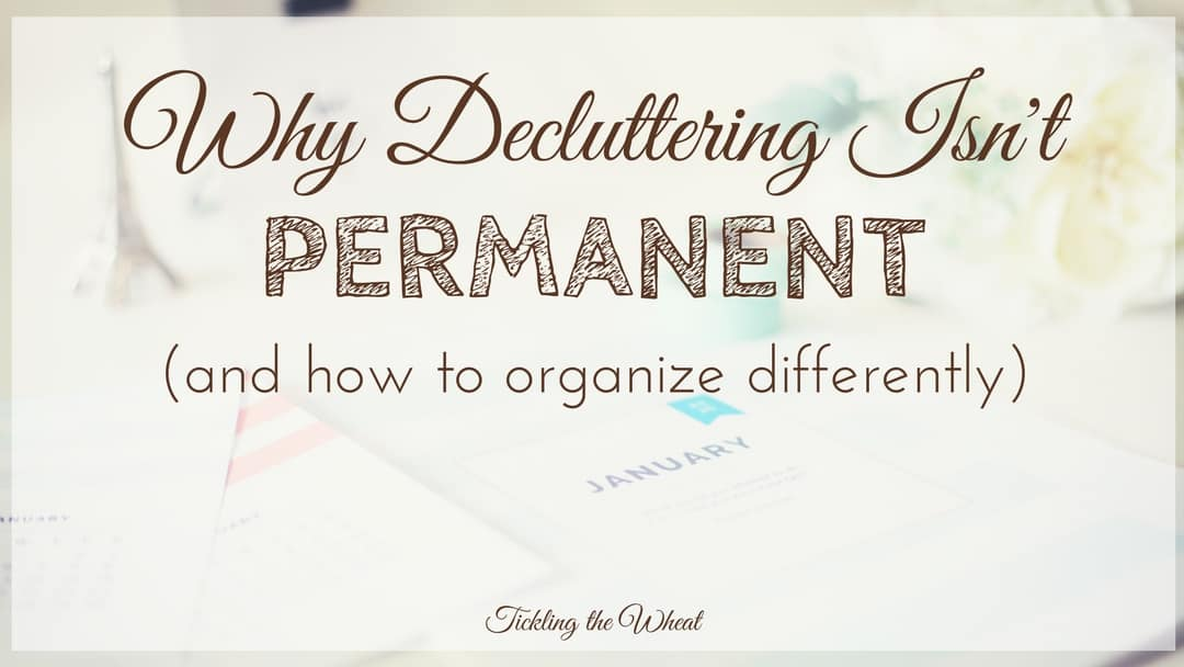These decluttering resources will help you organize your home and create systems to avoid overwhelm, both now and in the future.
