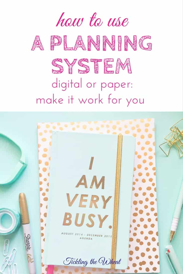 If you're struggling to find or use a planner or digital calendar, use these tips to find and stick to something that works for you.