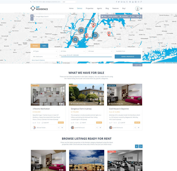 Why choose WP Residence for your realtor website