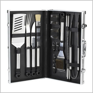 20-piece grill utensil set