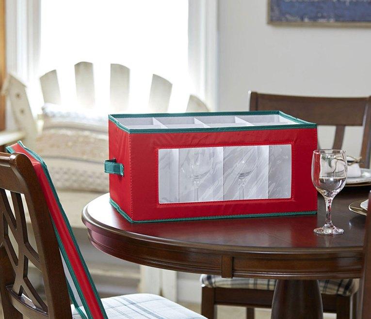 Holiday Dinnerware Storage Solutions