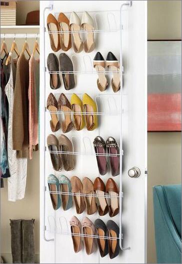 over door shoe organizer