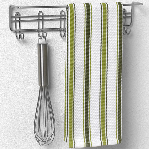 Kitchen Cabinet Door Organizers Wall Mount Towel Bar