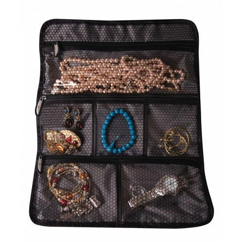 Travel Jewelry Roll in Travel Toiletry Organizers
