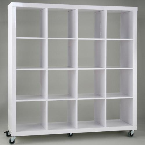 Cubby Shelves  White in Free Standing Shelves