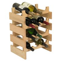 12 Bottle Wine Rack - Vertical in Wine Racks