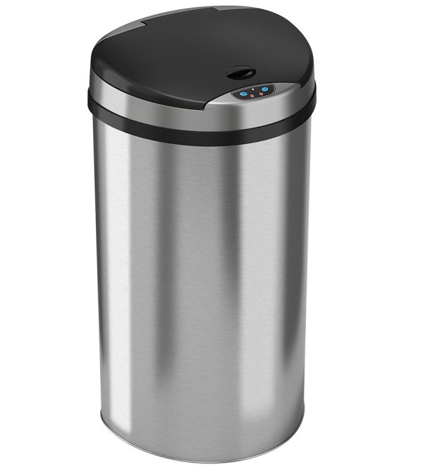 Round 13 Gallon Kitchen Trash Can